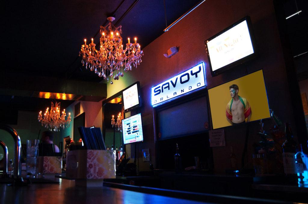 Savoy Main Bar Side