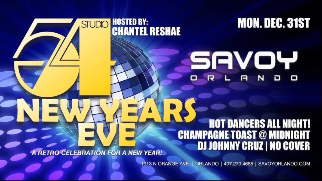 Studio 54 New Years Eve Party at Savoy Orlando