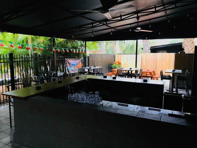 Paradise Patio at Savoy Orlando Events
