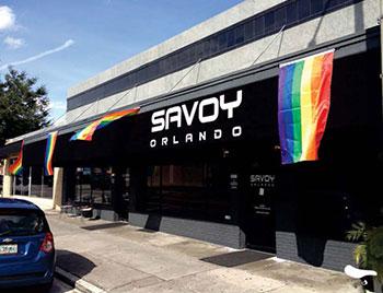 Park at Savoy Orlando for Orlando Pride