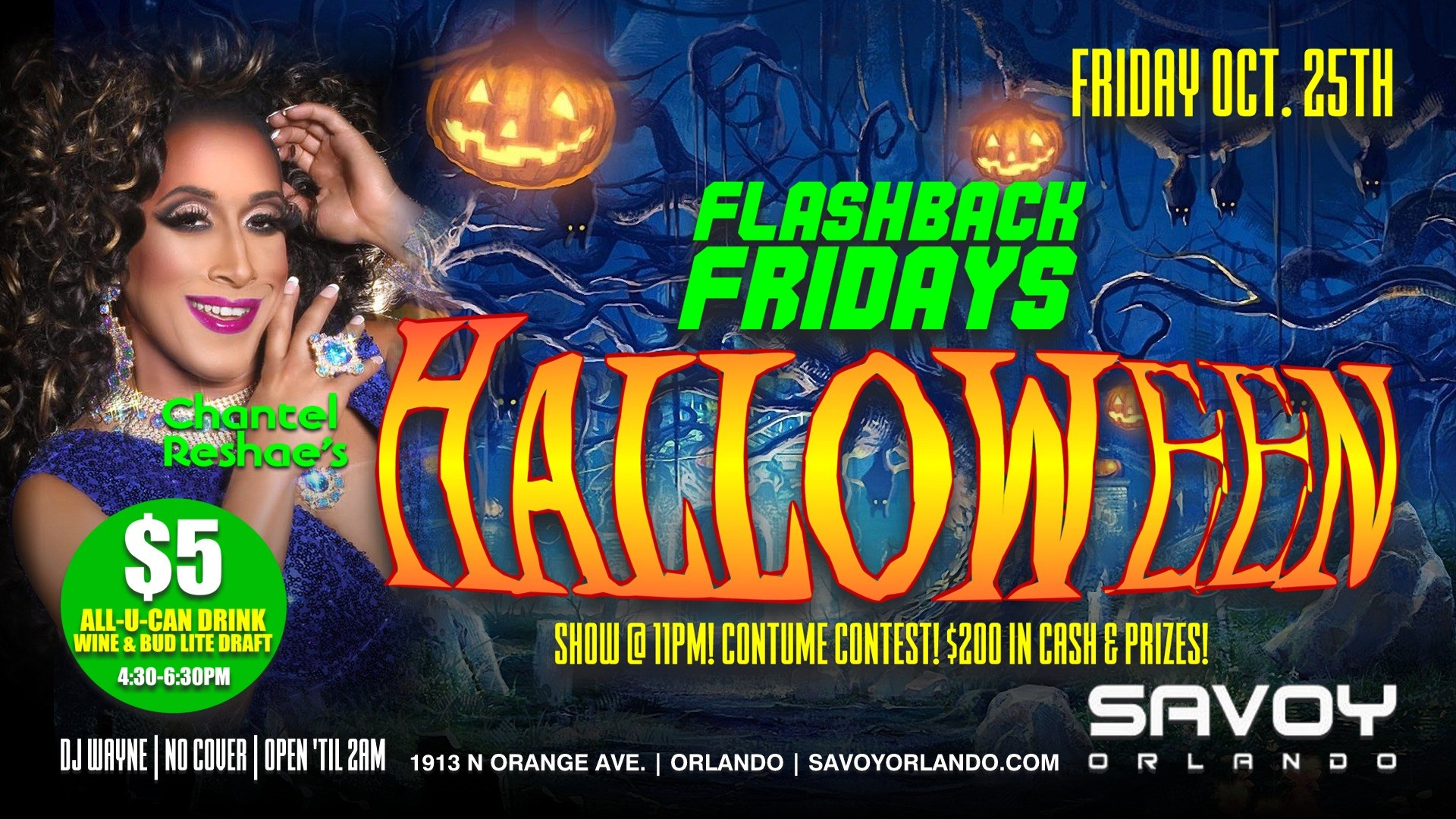 Flashback Fridays Halloween Edition