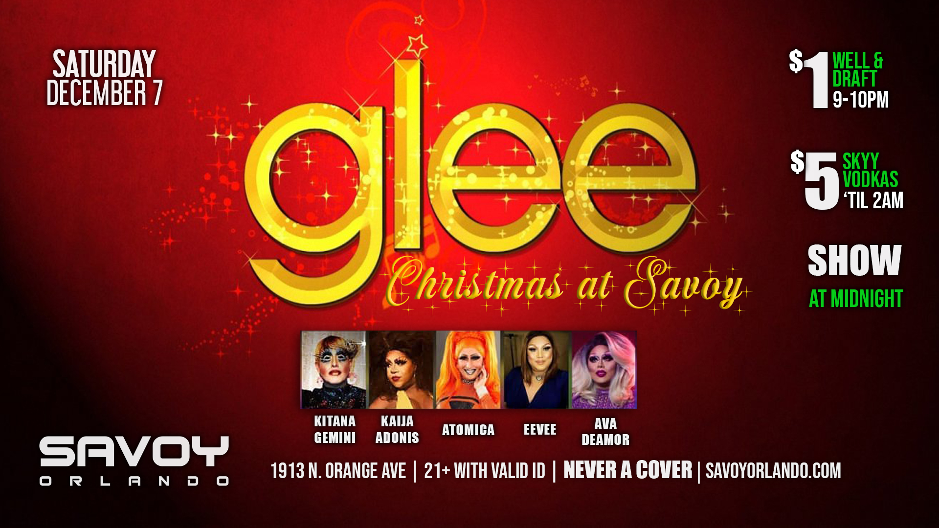 A glee christmas at savoy