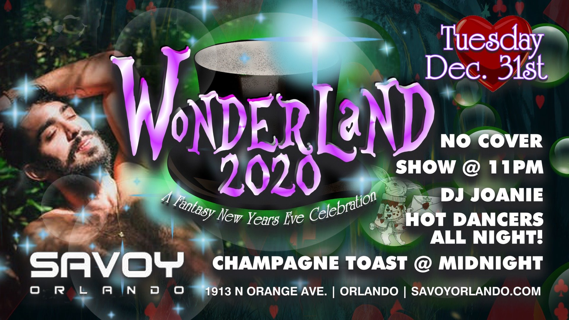 New Year's Eve Party Savoy Orlando