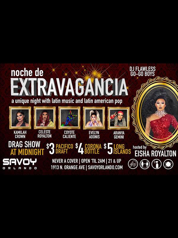 Gay Latin Night en Savoy orlando every thursday