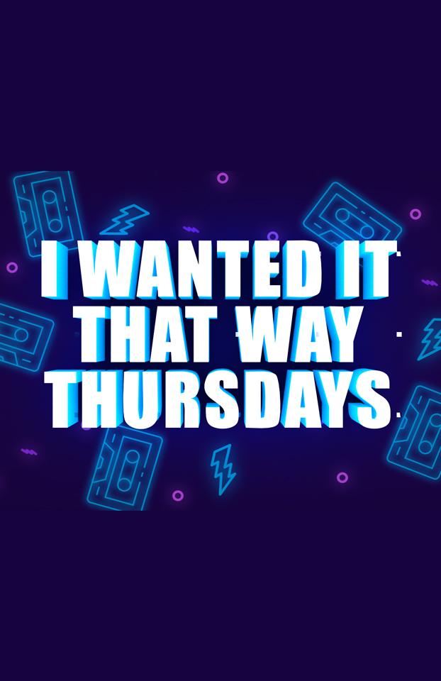 I wanted it that way thursdays Retro Night at Savoy Orlando Gay Bar