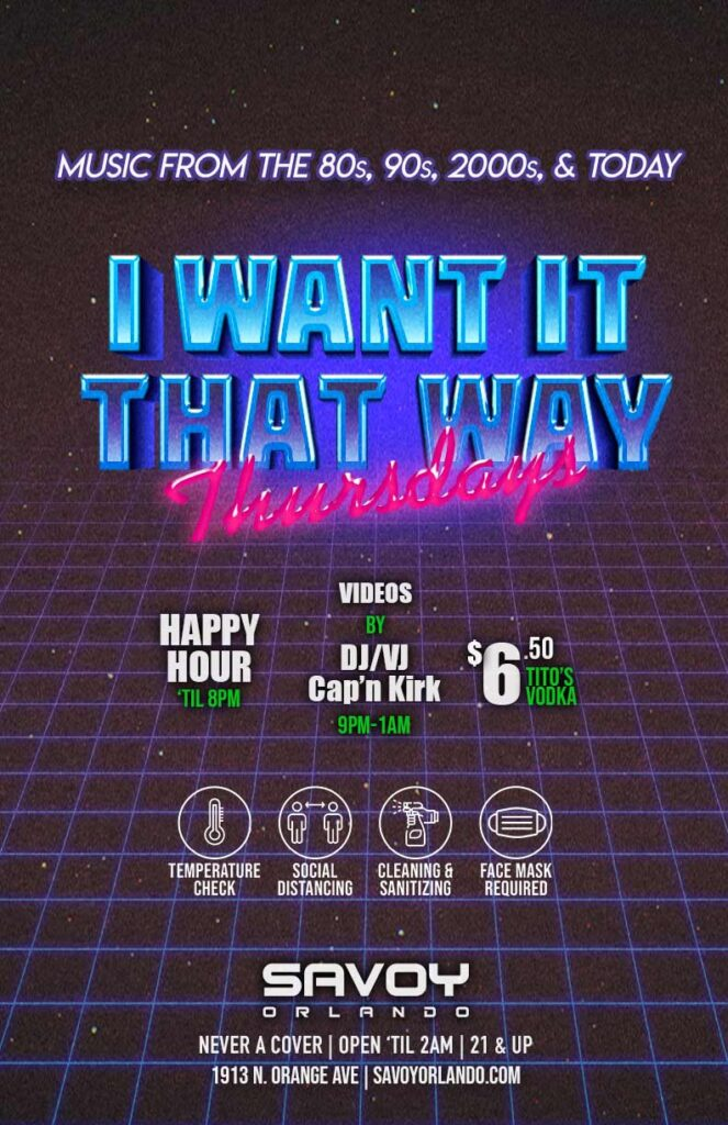 Thursdays Savoy Orlando Things to do in Orlando Gay Bars